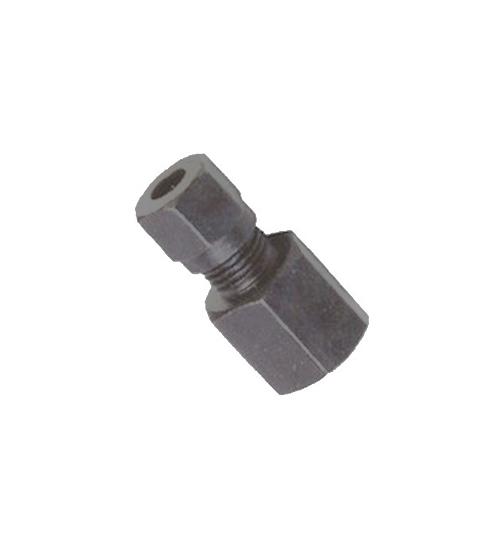 昆山焊接式端直通圆锥管螺纹管接头(16MPa)