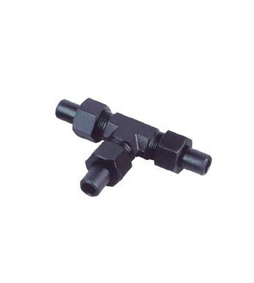 昆山卡套式锥螺纹直通管接头(16MPa)