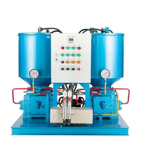 常熟双泵2HA-III3-430/100-DFK/JK电动润滑泵双列泵高压柱塞泵